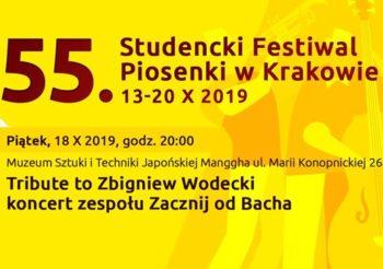 Tribute to Zbigniew Wodecki – koncert zespołu Zacznij od Bacha