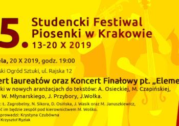 "Koncert laureatów oraz Koncert Finałowy pt. ""Elementarz"""